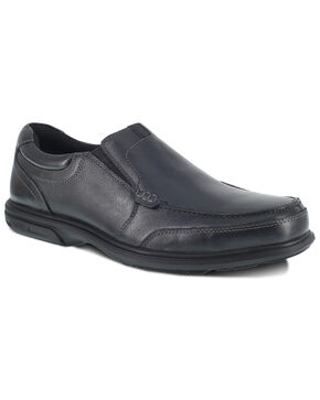 Florsheim Men's Loedin Work Boots - Steel Toe, Black, hi-res
