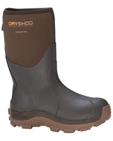 Dryshod Men's HI Haymaker Hard Working Farm Boots, Brown, hi-res
