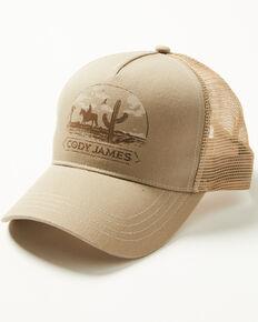 Cody James Men's Desert Cowboy Mesh Cap , Tan, hi-res