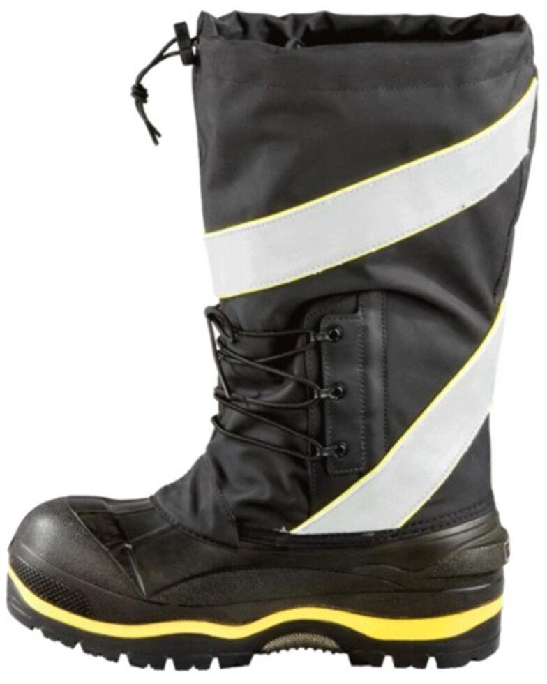 Baffin Men's Black Hi-Vis Derrick Safety Pull-On Work Boot , Black, hi-res