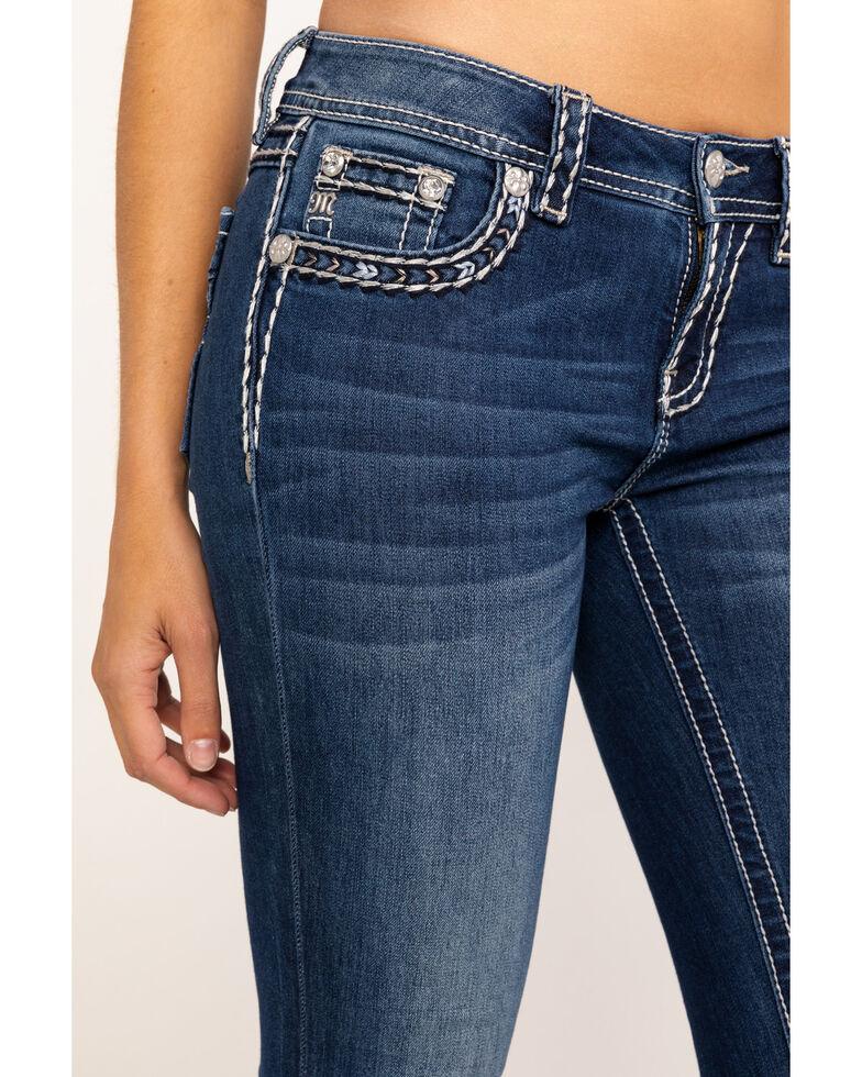 7de77d4488d36d Zoomed Image Miss Me Women's New Found Love Skinny Jeans, Blue, hi-res