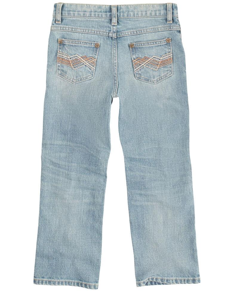 Wrangler 20X Boys' (8-20) Vintage Light Wash Slim Bootcut Jeans  , Light Blue, hi-res