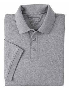 5.11 Tactical Jersey Short Sleeve Polo - 3XL, Hthr Grey, hi-res