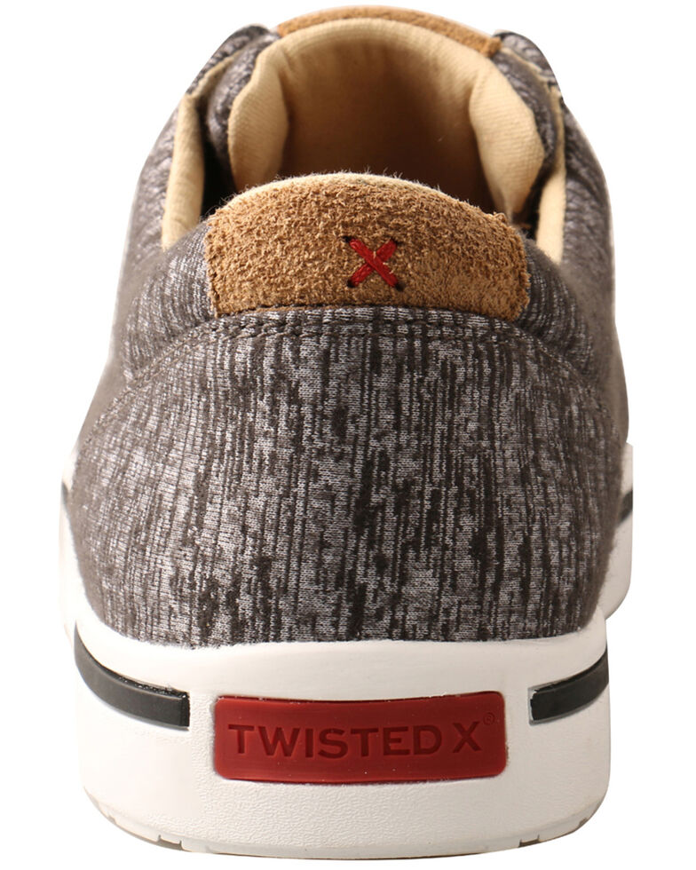 Hooey by Twisted X Men's Kicks Casual Shoes, Dark Grey, hi-res
