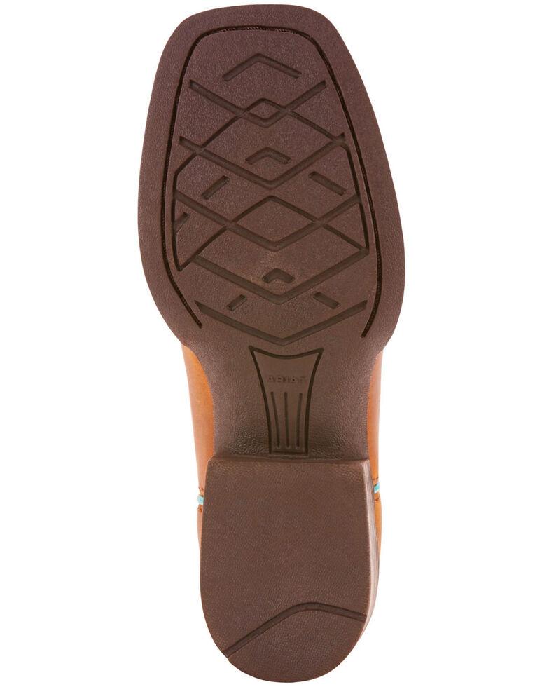 Ariat Girls' Tan Quickdraw Boots - Square Toe , Tan, hi-res