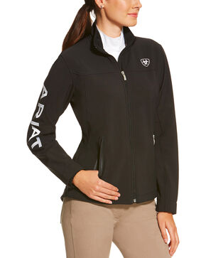 Ariat Women's Softshell Team Jacket , Black, hi-res
