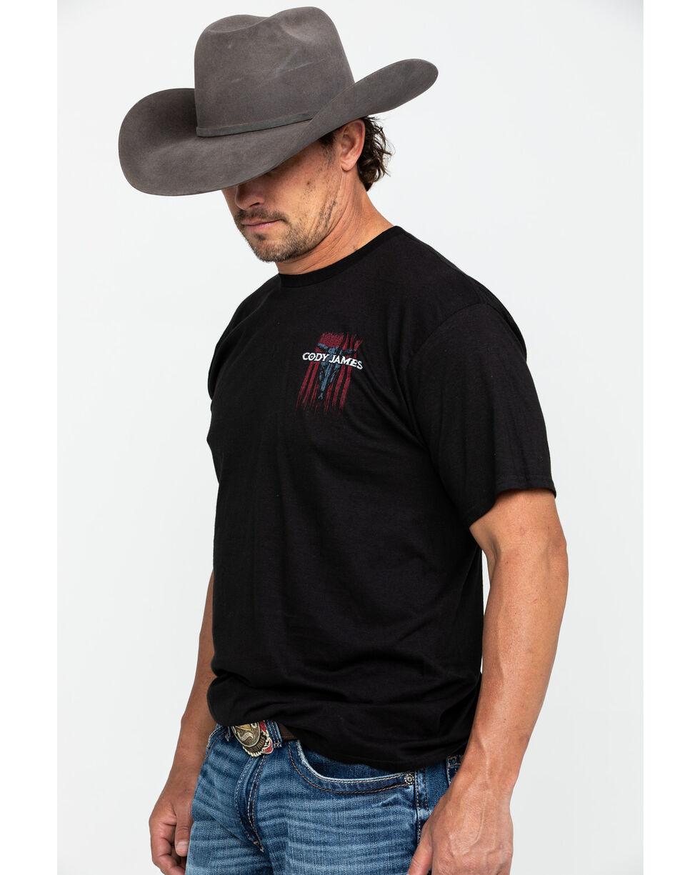 Cody James Men's Bull Flag Graphic T-Shirt , , hi-res