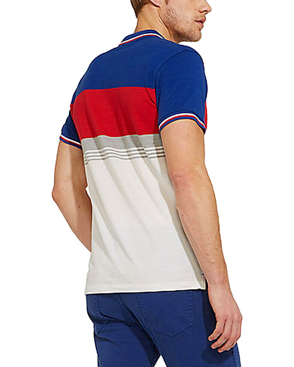 Wrangler Men's 70th Anniversary Retro Slim Fit Polo , Blue, hi-res