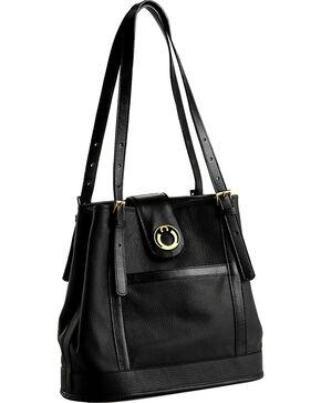 Designer Concealed Carry Black Palisade Tote Bag, Black, hi-res