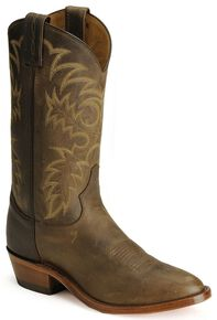 Tony Lama Bay Apache Americana Cowboy Boots - Medium Toe, Bay Apache, hi-res