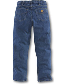 Carhartt Men's Relaxed Fit Jeans - Straight Leg , Blue, hi-res