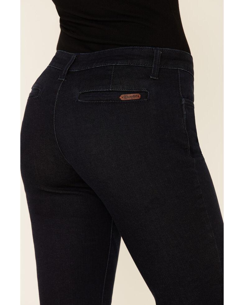 Wrangler Women's Retro Mae Wide Leg Jeans, Indigo, hi-res