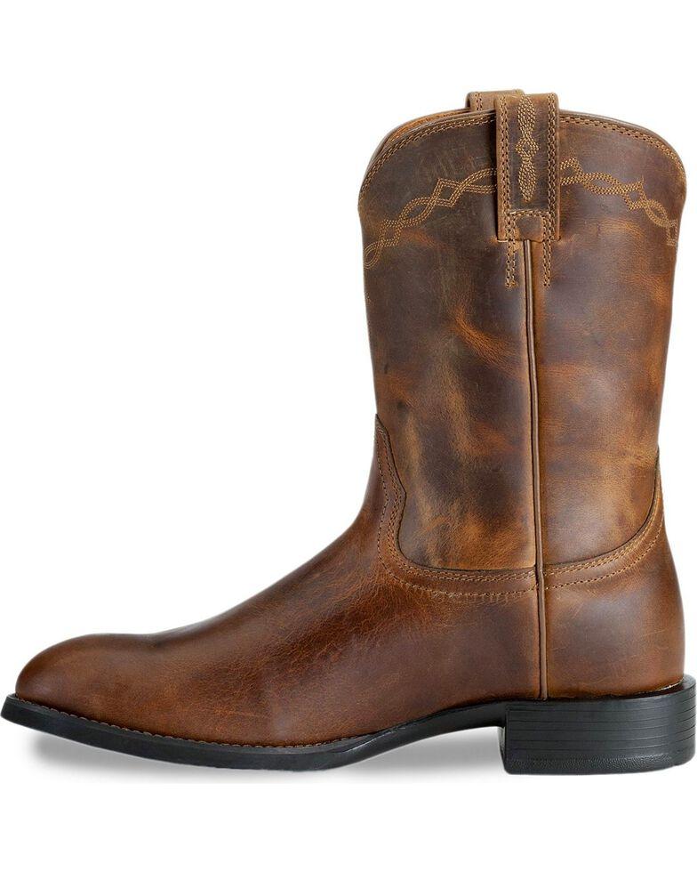Ariat Men's Heritage Roper Cowboy Boots, Distressed, hi-res