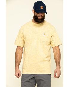 Carhartt Men's Gold Workwear Pocket Short Sleeve Work T-Shirt, Gold, hi-res