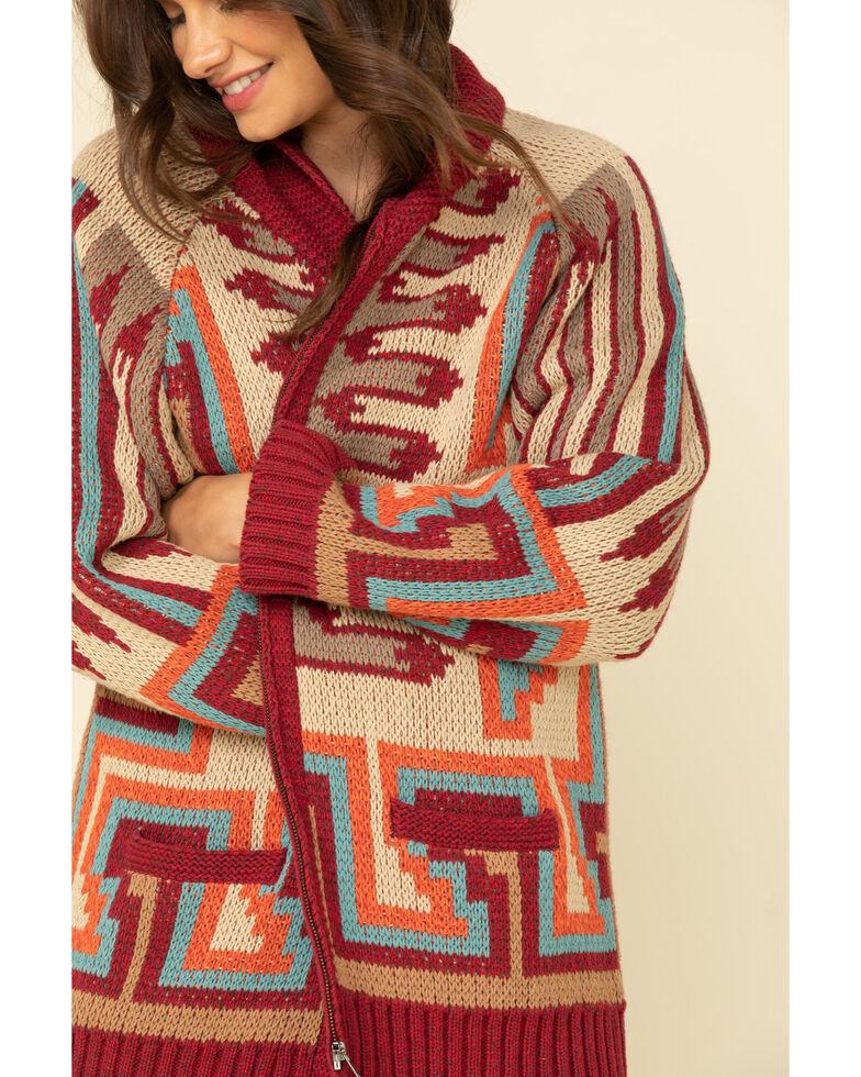 Tasha Polizzi Women's Chiefton Blanket Cardigan, Multi, hi-res