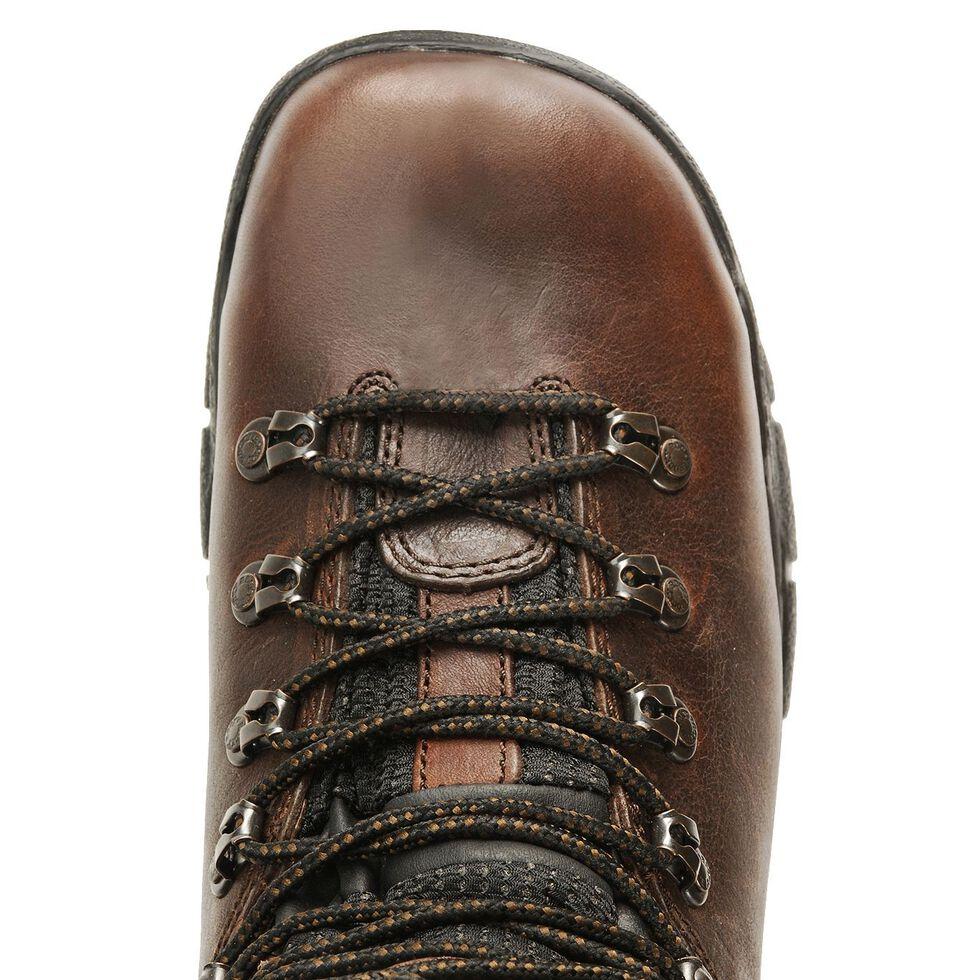 """Rocky Men's 6"""" Mobilite Waterproof Work Boots - Steel Toe, Brown, hi-res"""