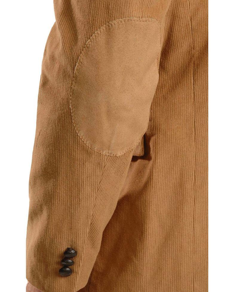 Circle S Corduroy Sport Coat - Big and Tall, Camel, hi-res