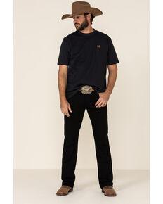 Ariat Men's Black Legacy Stretch Stackable Slim Straight Jeans , Blue, hi-res