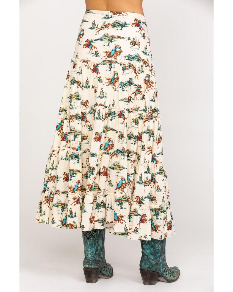 Tasha Polizzi Women's Saddle Skirt, Multi, hi-res