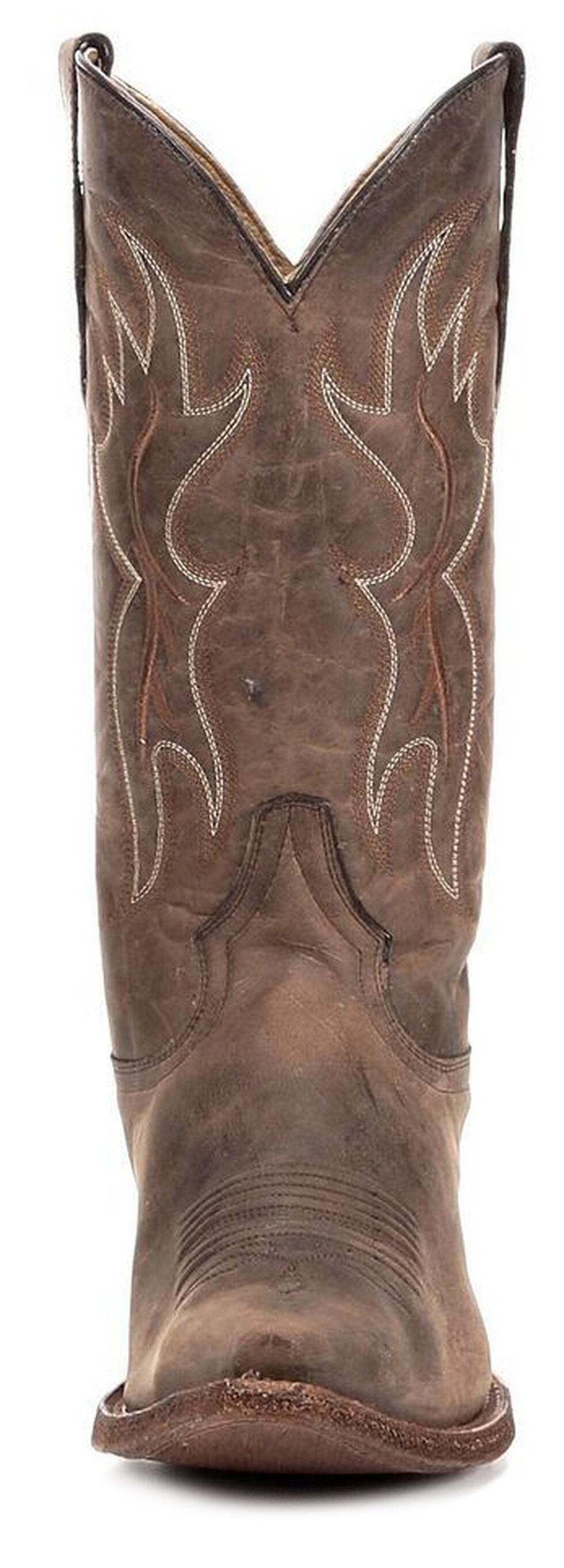 Circle G Men's Tan Basic Western Boots - Snip Toe, Tan, hi-res