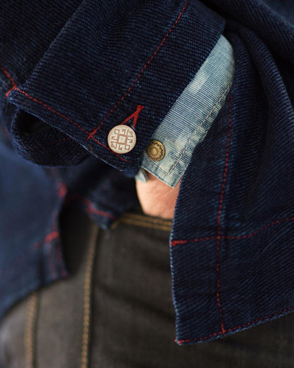Ryan Michael Men's Chenille Shirt Jacket, Indigo, hi-res