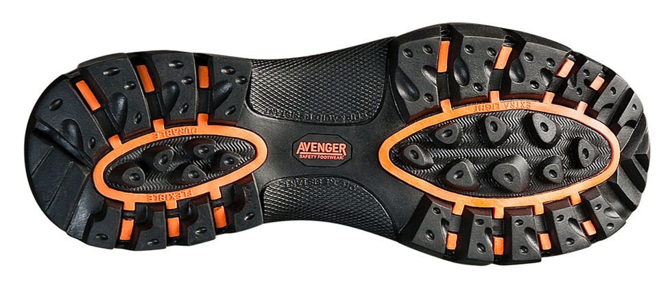 Avenger Boots Men's Insulated Hiking Boots - Composite Toe , Brown, hi-res