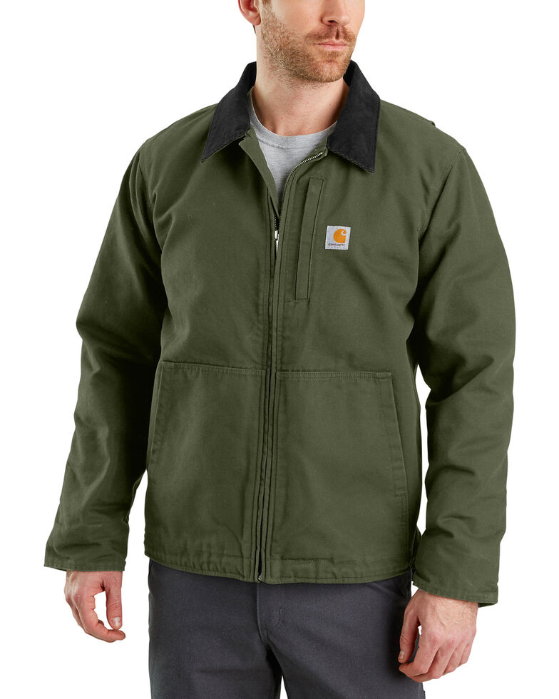 Carhartt Men's Full Swing Armstrong Jacket - Big & Tall , Moss Green, hi-res