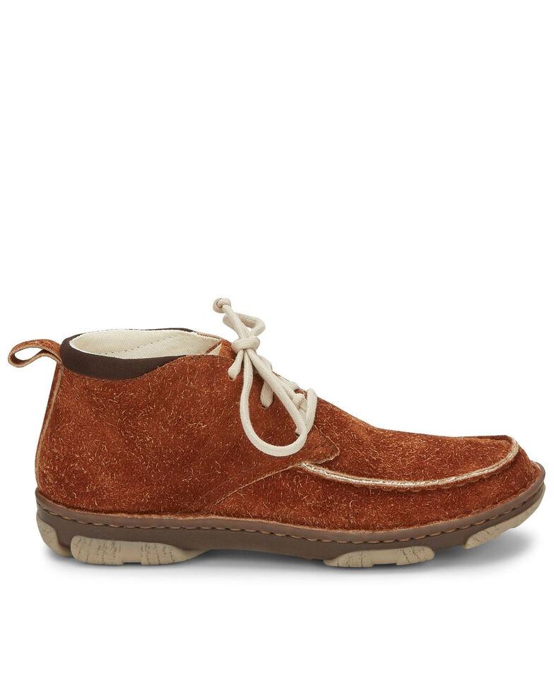 Tony Lama Men's Joshua Fox Casual Shoes - Moc Toe, Cognac, hi-res