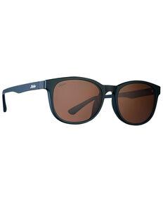 Hobie Bells Satin Black & Copper Polarized Blueblocker Sunglasses , Black, hi-res
