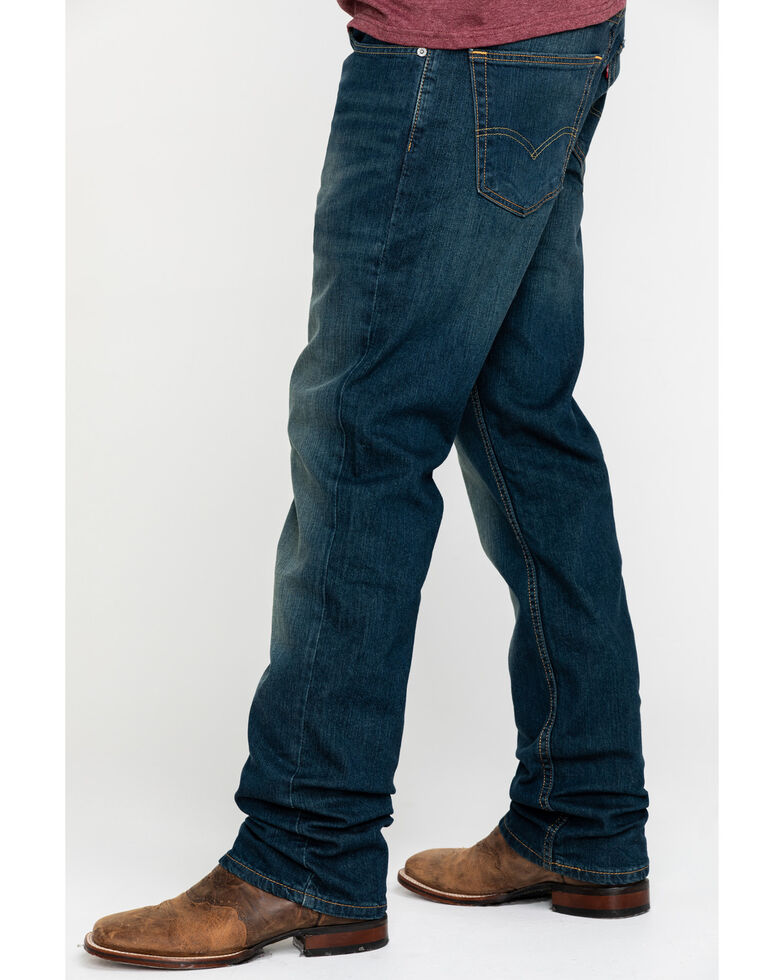 Levi's Men's Cash Med Relaxed Straight Jeans , Blue, hi-res
