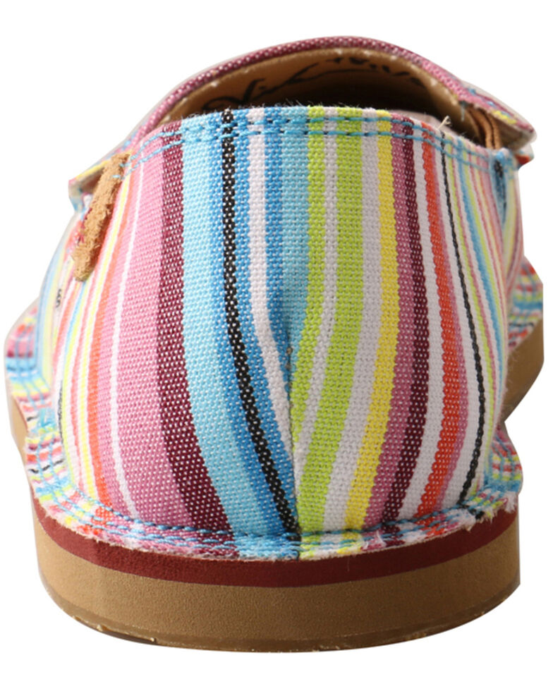 Twisted X Women's Multicolored Casual Loafer Shoes - Moc Toe, , hi-res
