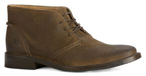Frye Men's Oliver Chukka Shoes, Fatigue, hi-res