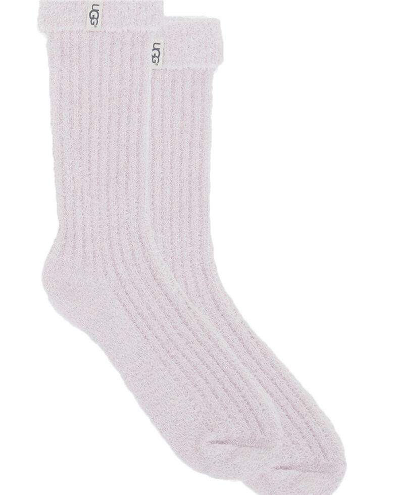 UGG Women's Cozy Sparkle Sock Gift Set, Black/white, hi-res