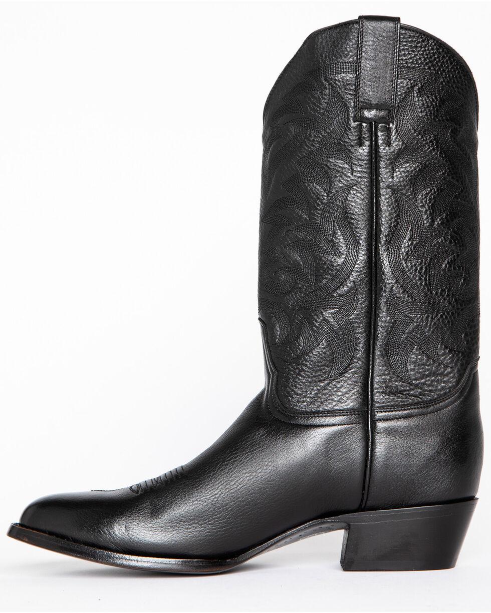 Cody James Men's Classic Black Western Boots - Medium Toe, Black, hi-res