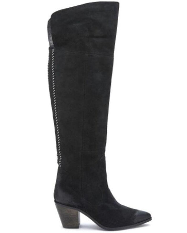 Matisse Women's Black Astro Western Boots - Snip Toe, Black, hi-res