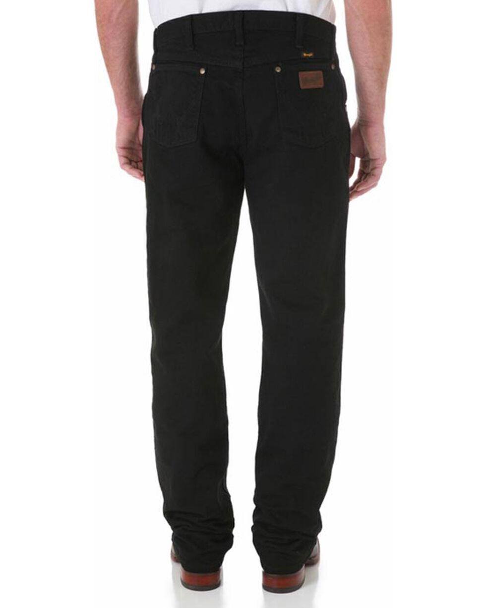 Wrangler Men's Premium Performance Cowboy Cut Jeans - Tall, Black, hi-res