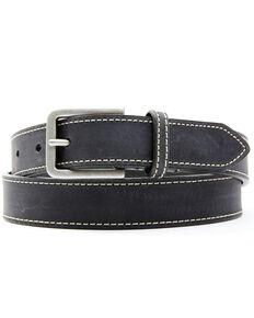 Shyanne Women's Mattie Black Leather Belt , Black, hi-res