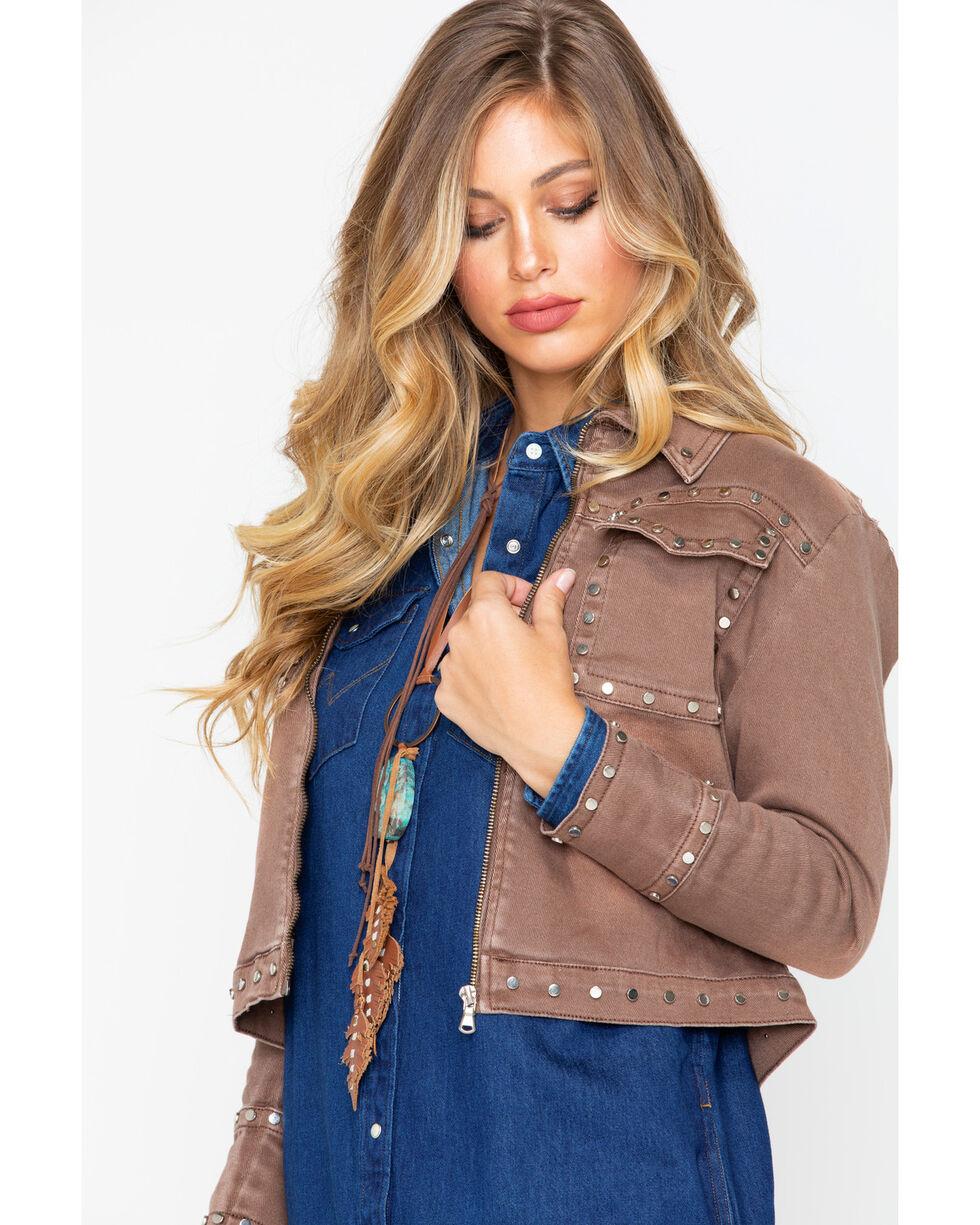 Angel Premium Women's Farrah Jacket , Taupe, hi-res