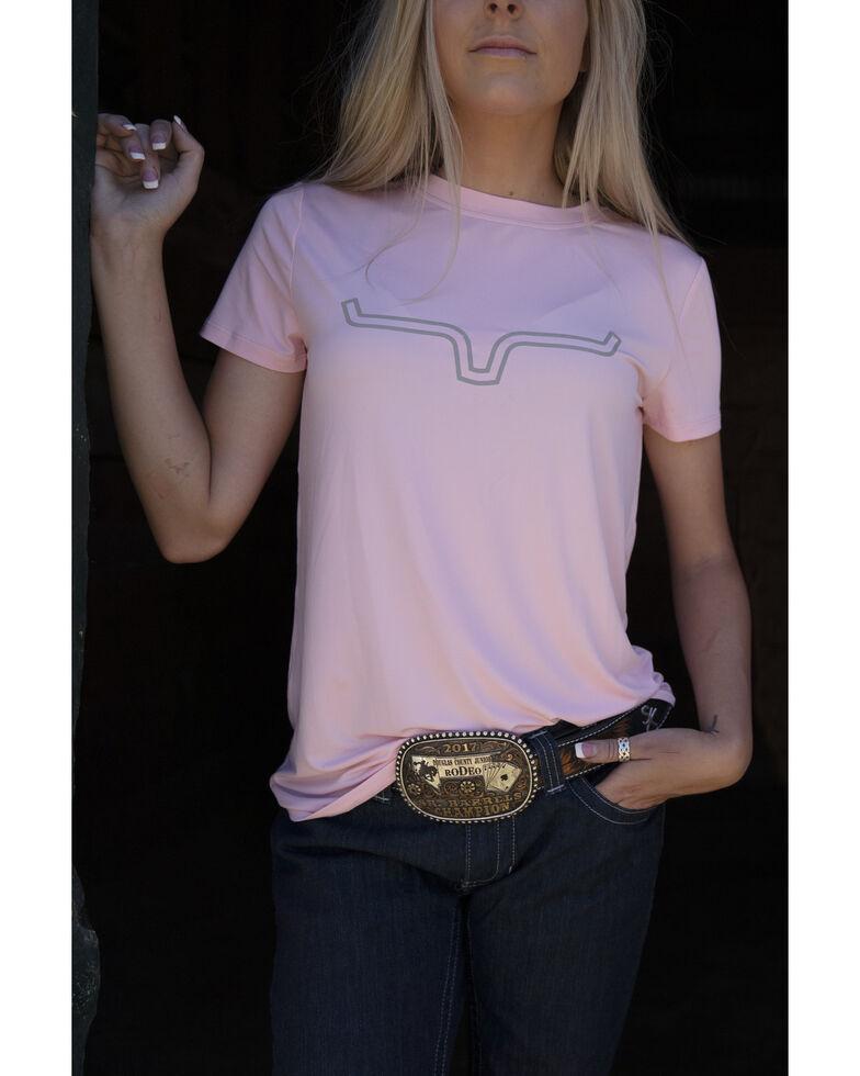 Kimes Ranch Women's Blush Outlier Logo Short Sleeve Tee, Blush, hi-res