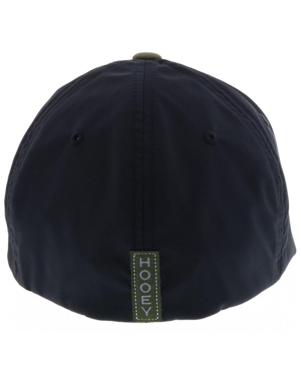 HOOey Men's Olive Brim Ball Cap, Olive, hi-res