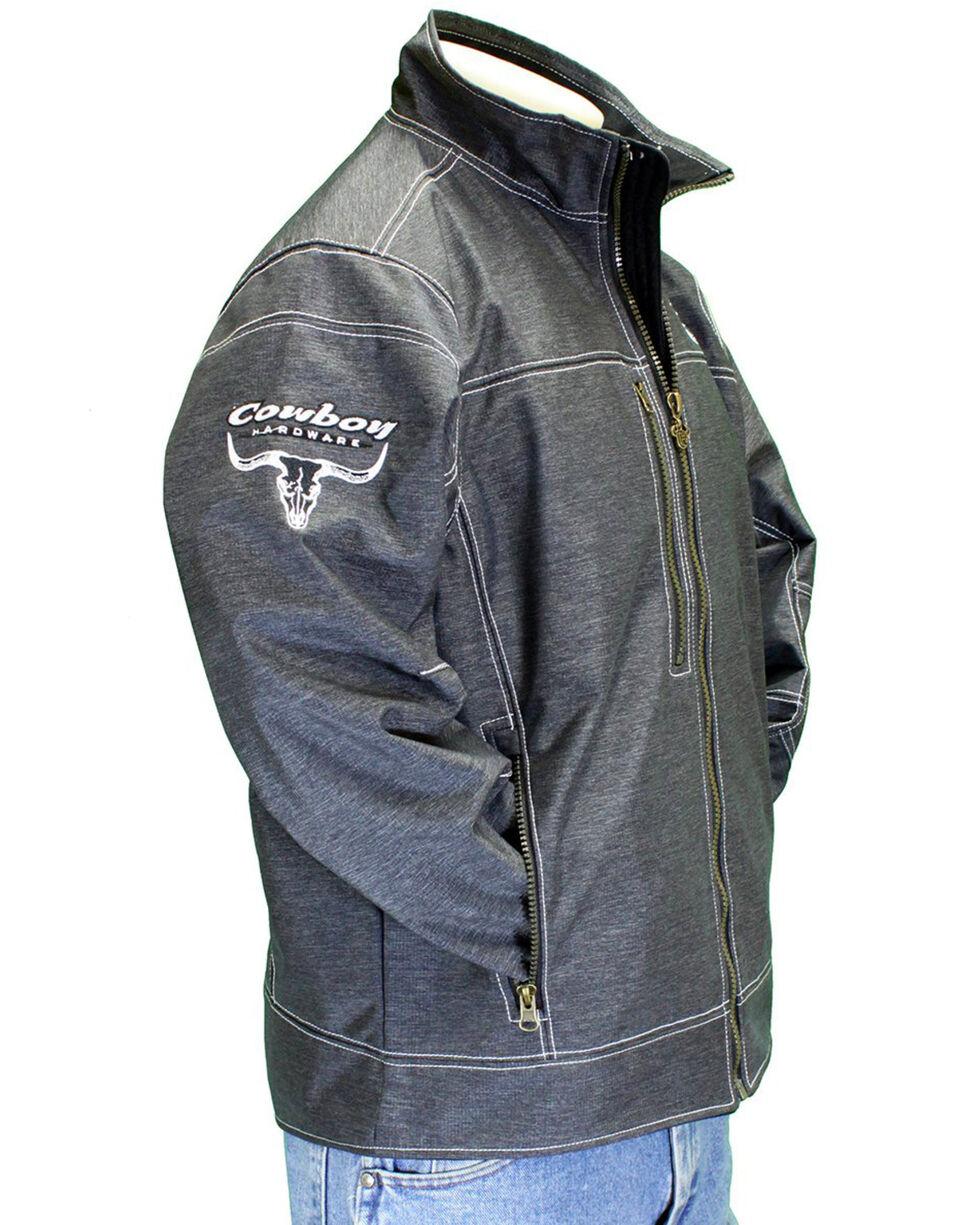 Cowboy Hardware Men's Woodsman Zip- Up Jacket , Black, hi-res