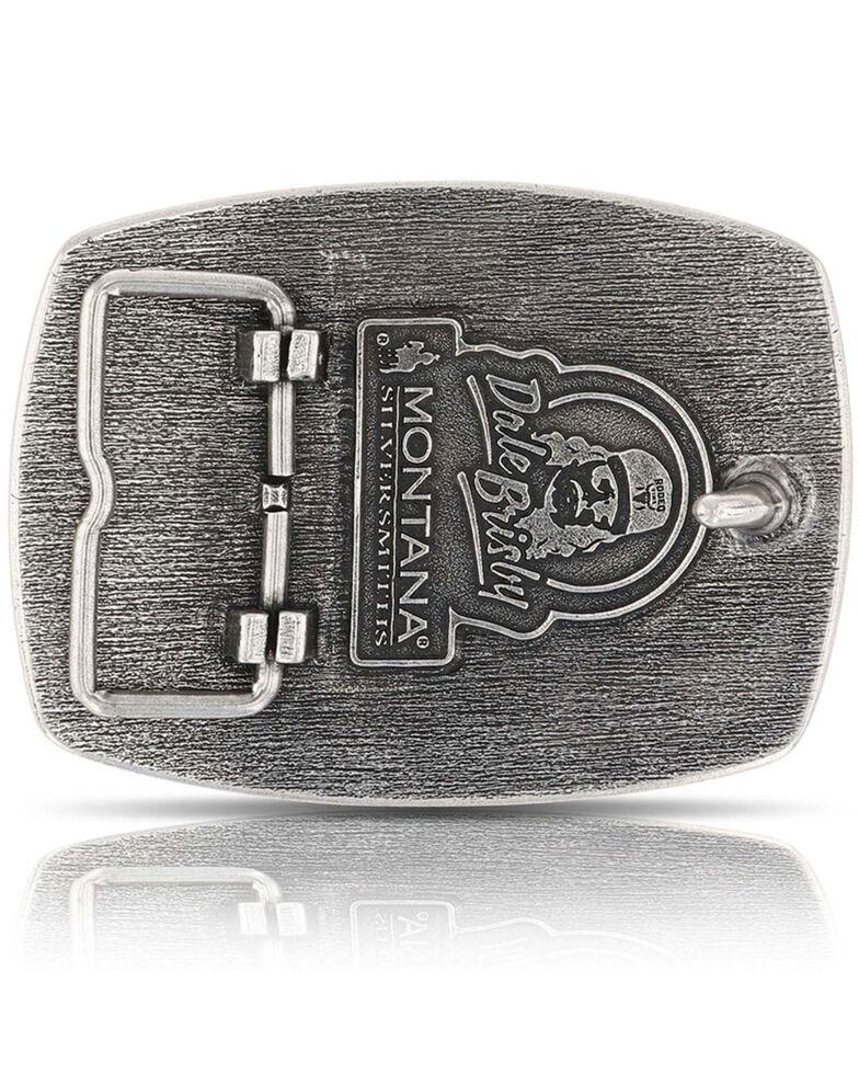 Montana Silversmiths Men's Dale Brisby Super Puncher Longhorn Buckle, Silver, hi-res