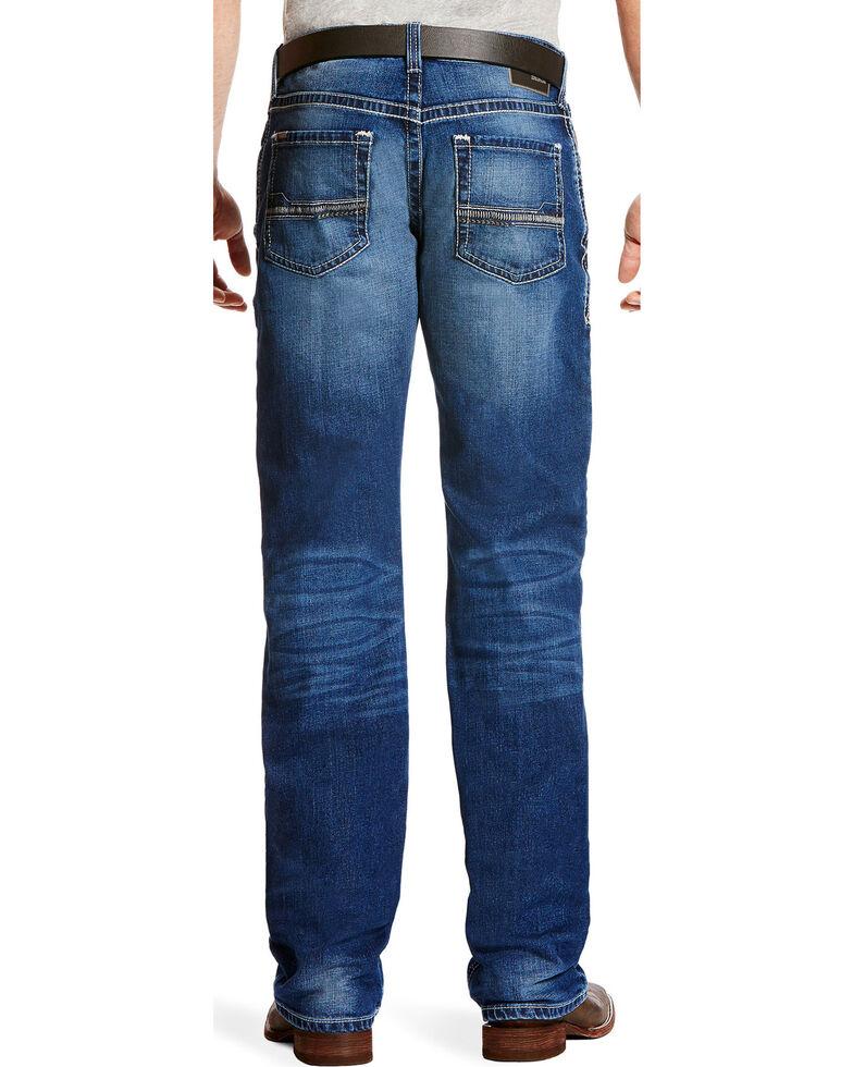 Ariat Men's M4 Dawson Low Rise Jeans - Boot Cut, Indigo, hi-res