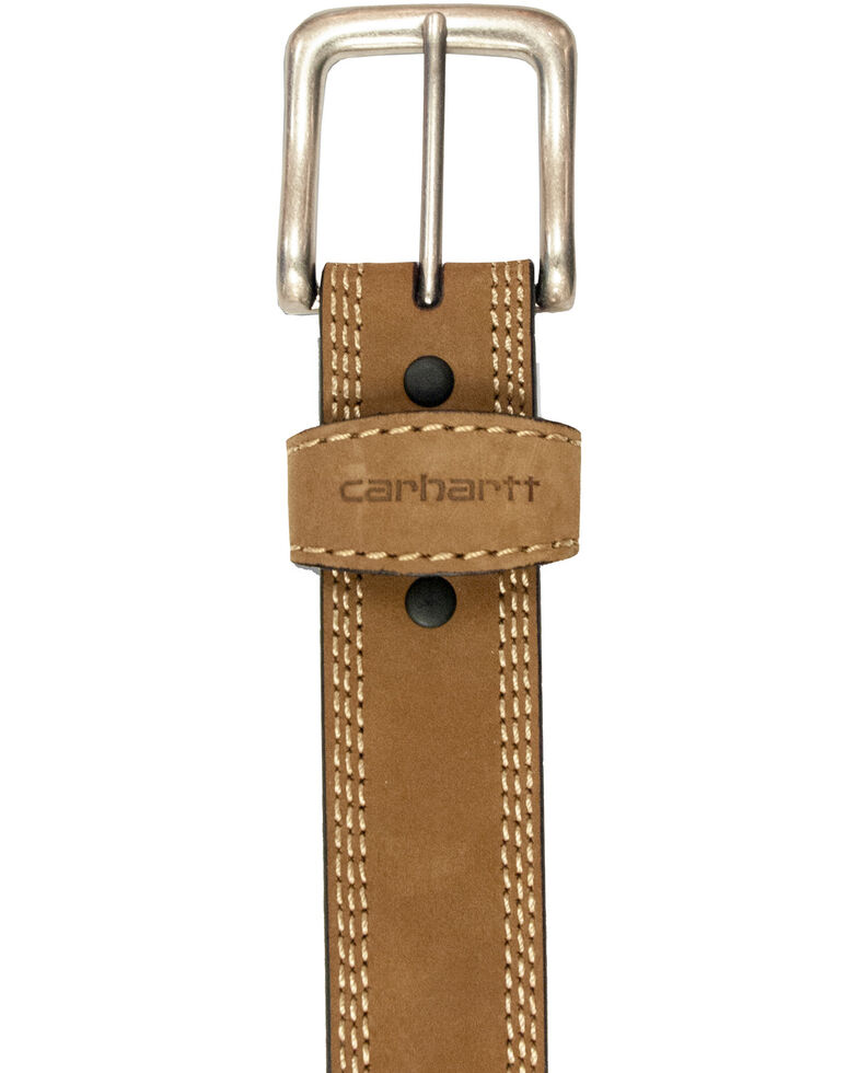 Carhartt Men's Detroit Work Belt, Brown, hi-res