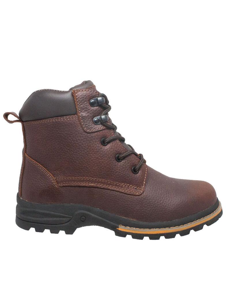 Ad Tec Men's Brown Oiled Work Boots - Soft Toe, Brown, hi-res