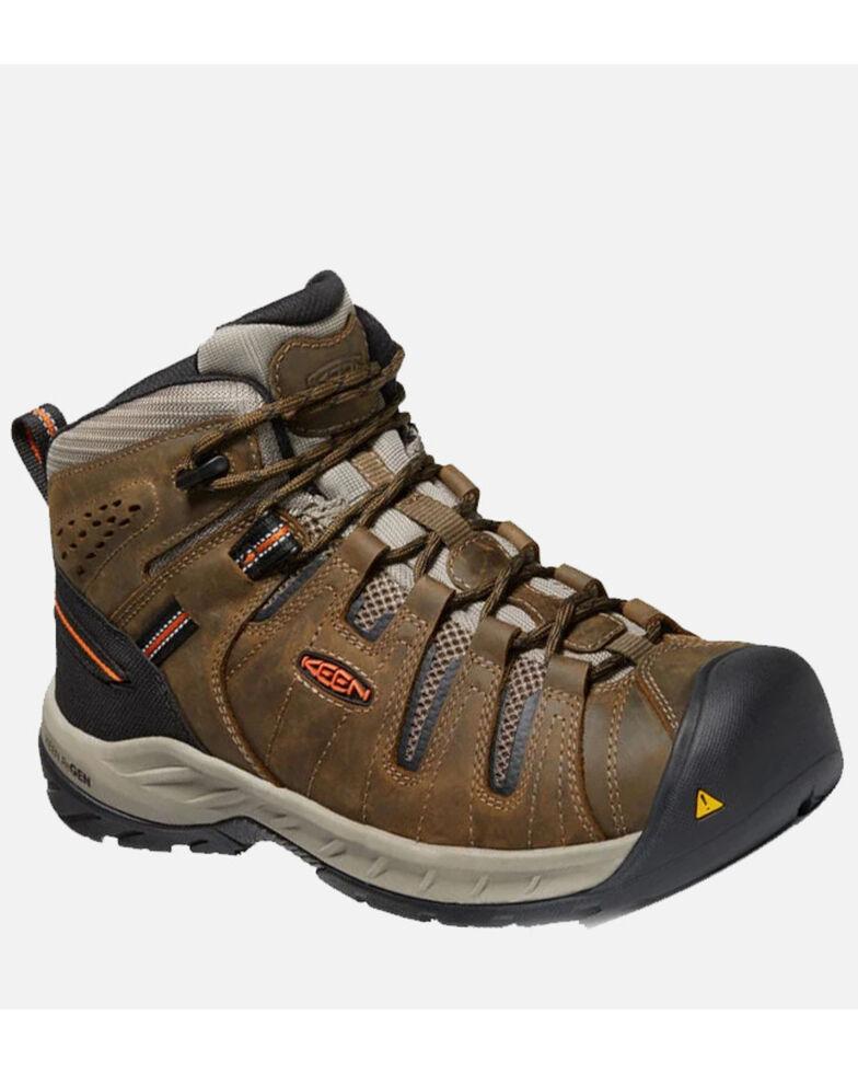 Keen Men's Flint II Hiking Boots - Soft Toe, Brown, hi-res