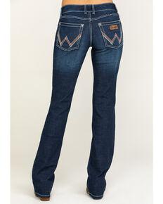 Wrangler Retro Women's Medium Mae Bootcut Jeans, Blue, hi-res