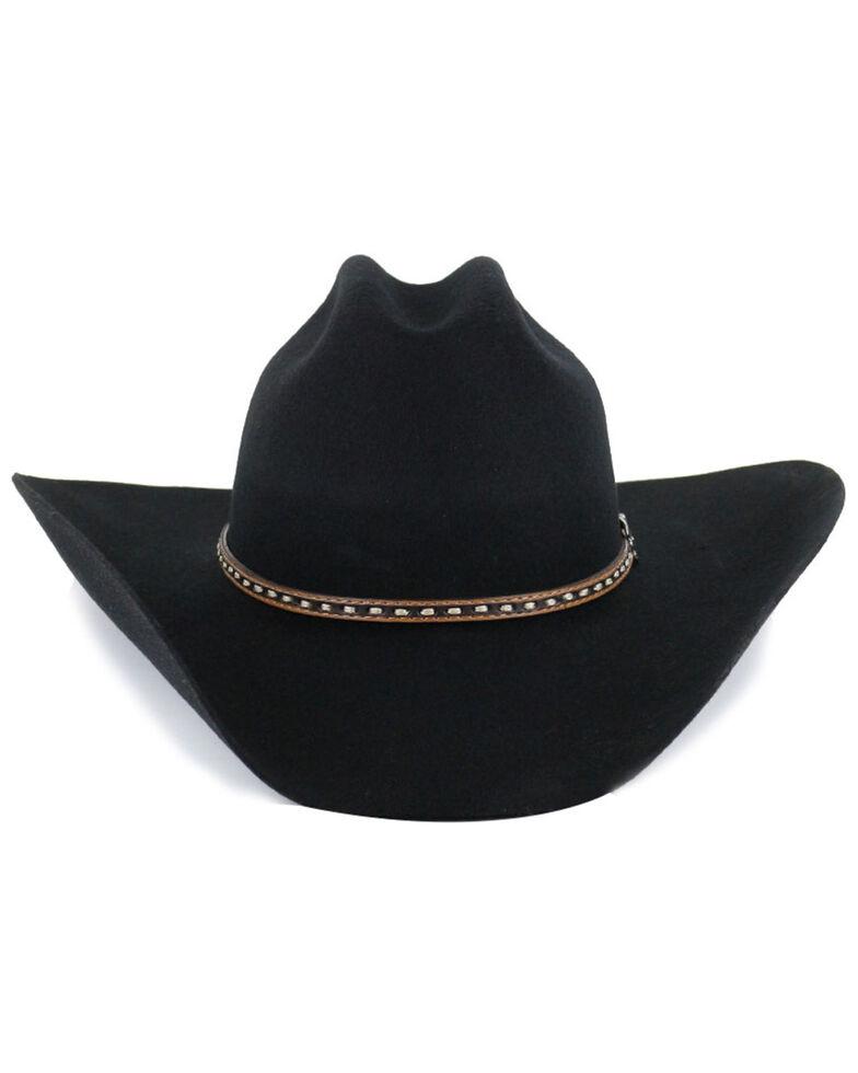 Cody James Men's 3X Wool Felt Cowboy Hat, Black, hi-res