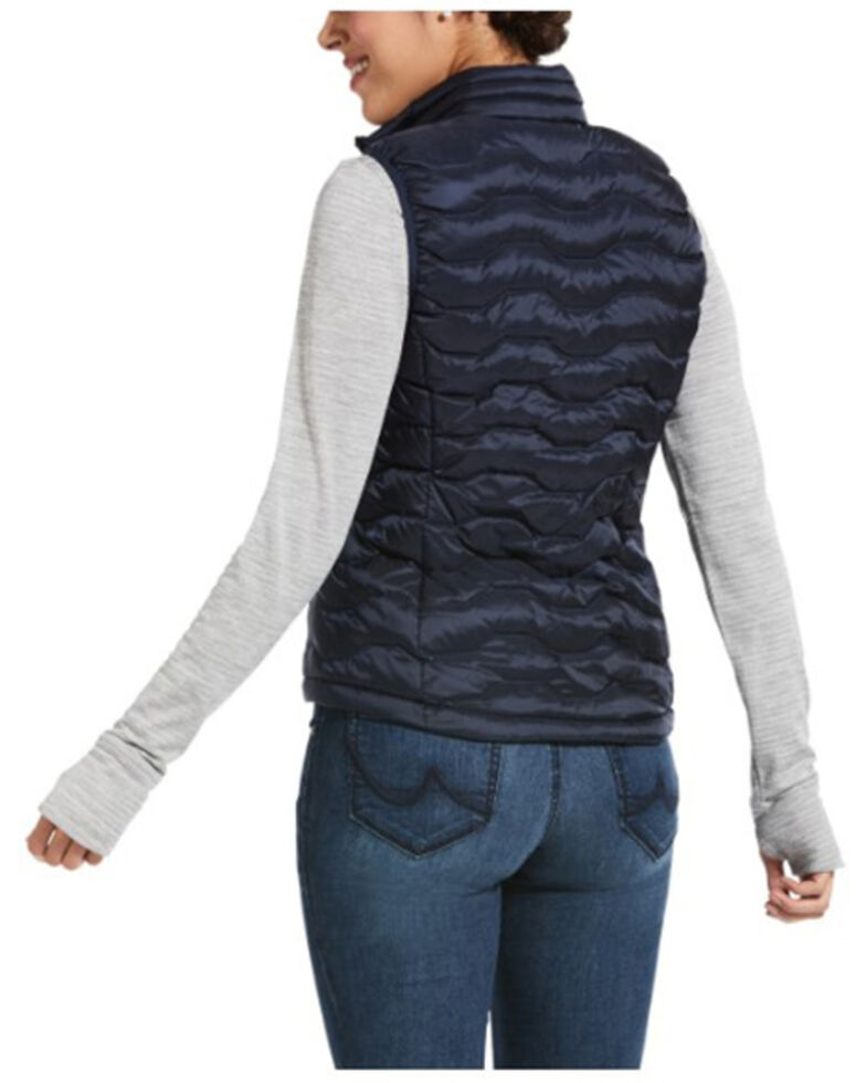 Ariat Women's Navy Eclipse Ideal 3.0 Down Vest , Navy, hi-res