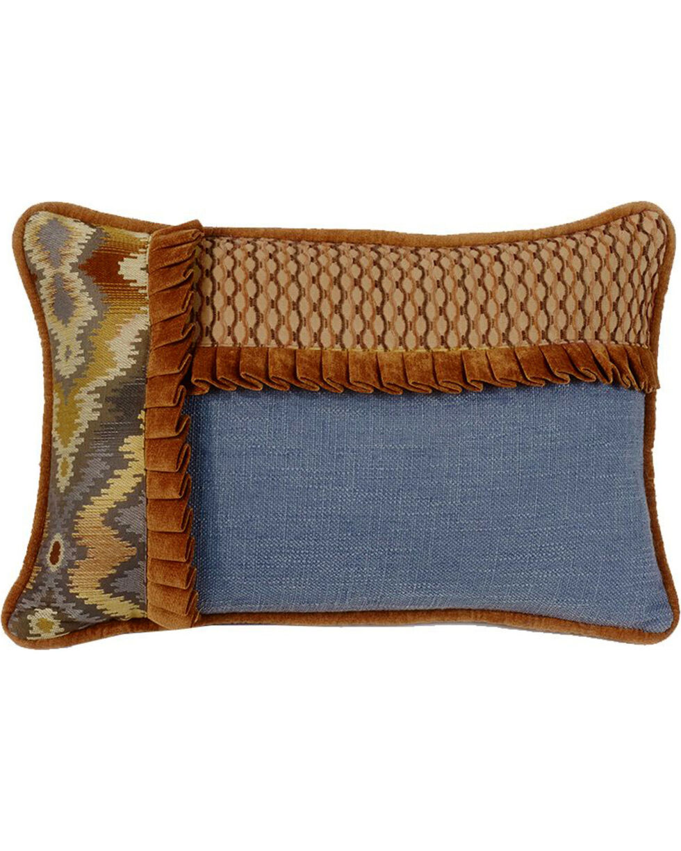 HiEnd Accents Lexington Pieced Ruffle Pillow, Multi, hi-res